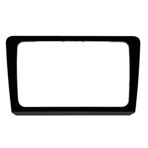 Marco adaptador de pantallas RCD510, RNS510, RCD310, RNS310, RNS315 negro  para VW Bora modelos 2013 14