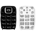Keyboard Nokia 6131, (black, english)