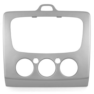Car Stereo Trim Plate for Ford (silvery)
