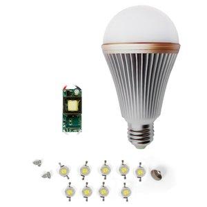 LED Light Bulb DIY Kit SQ-Q24 E27 9 W – warm white