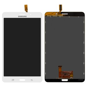 LCD for Samsung T230 Galaxy Tab 4 7.0, T231 Galaxy Tab 4 7.0 3G , T235 Galaxy Tab 4 7.0 LTE Tablets, (version 3G , white, with touchscreen)