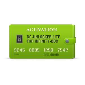 Activación DC-Unlocker Lite para Infinity-Box/Dongle