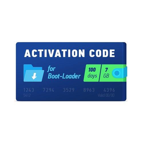 Boot-Loader 2.0 Código de activación (100 días, 7 GB)