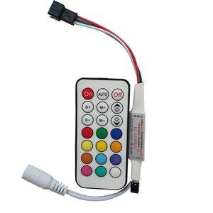 Контроллер с радиопультом LED2017-RF (RGB, 1024 пкс, 5-24 В)