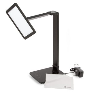 Dimmable Rotatable Shadeless LED Desk Lamp TaoTronics TT-DL09, Black, US