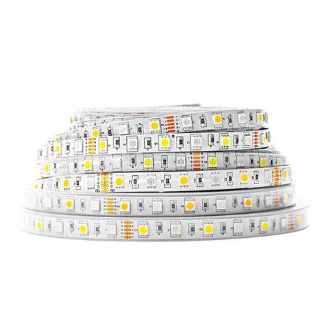 RGB+WW LED Strip SMD5050 300 LEDs, 12 V, 5 m, IP65