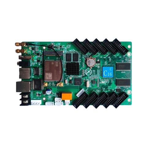 Huidu HD C16C LED Display Module Control Card 384x320, 10 x HUB75E, with Wi Fi Module